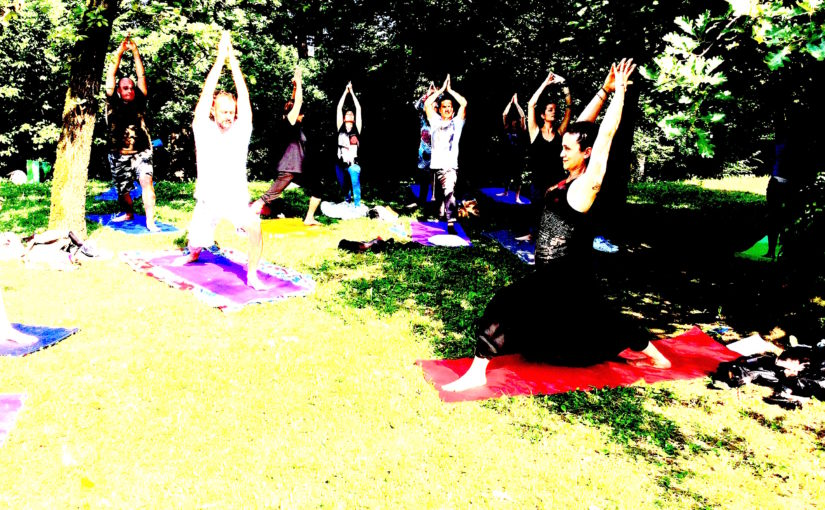 Yoga in Villa Tasca a Brembate